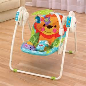 fisher price table top swing fisher price precious planet blue sky take along portable