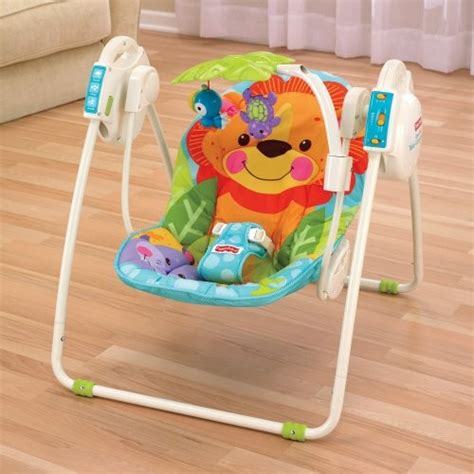portable baby swings fisher price precious planet blue sky take along portable