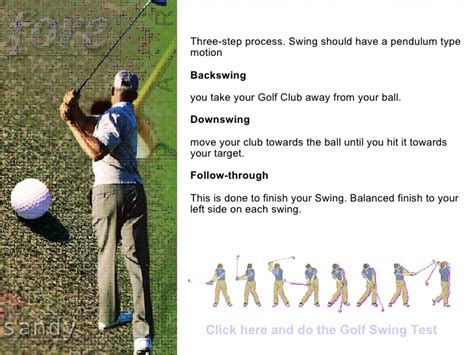 how to swing a golf club golf swing tips how to swing a golf club lessons on