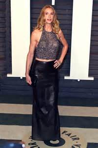 Kelly lynch attends 2016 vanity fair oscar party leather celebrities