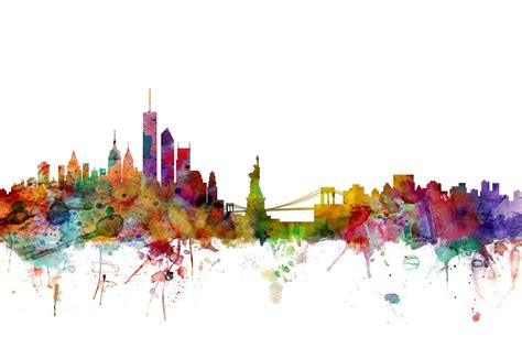new york skyline wall mural amp photo wallpaper photowall