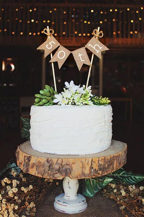 50th Birthday, 50th Birthday Cake Topper, 50th Birthday