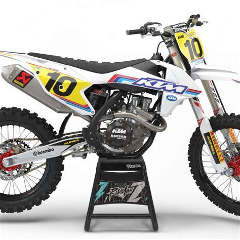 design ktm graphics rival ink design co custom motocross graphics product