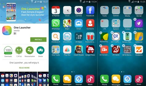 apple launchers for android best iphone like launchers for android