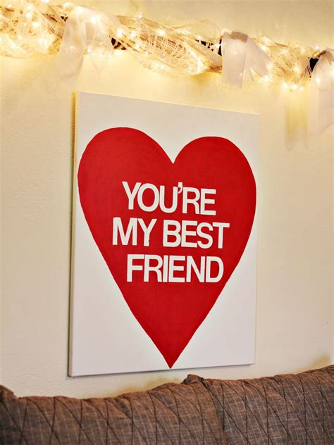 what to give your best friend for valentines day 49 easy diy s gifts to whip up last minute