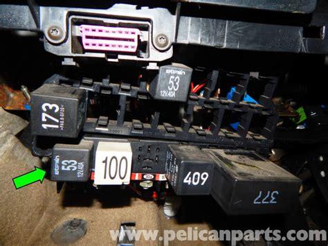 volkswagen jetta mkiv relay panel access  relay