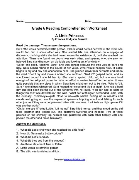 Level 4 Reading Comprehension Worksheets by 4th Grade Reading Comprehension Worksheets Wallpapercraft