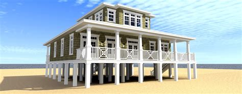 Oceanfront House Plans by Ultimate Oceanfront House Plan 44117td 2nd Floor