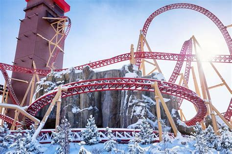 9 Rankers Of The Roller Coaster World by The World S Steepest Roller Coasters