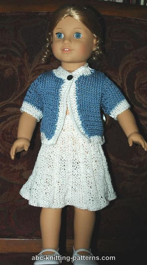 free knitting patterns for american dolls abc knitting patterns american doll suit