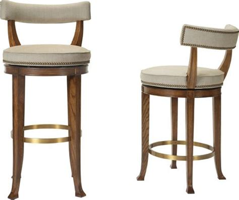 Curved Back Counter Stool by 1000 Ideas About Swivel Bar Stools On Swivel