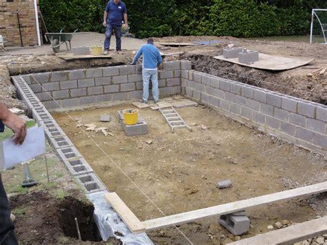 swimming pool plan concrete block swimming pool plans mibhouse com