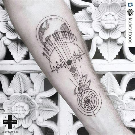 tattooed heart acoustic best 25 music tattoo designs ideas on pinterest music