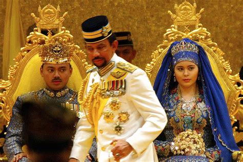 sultan hassanal bolkiah wives the sultan of brunei the opulent world of hassanal