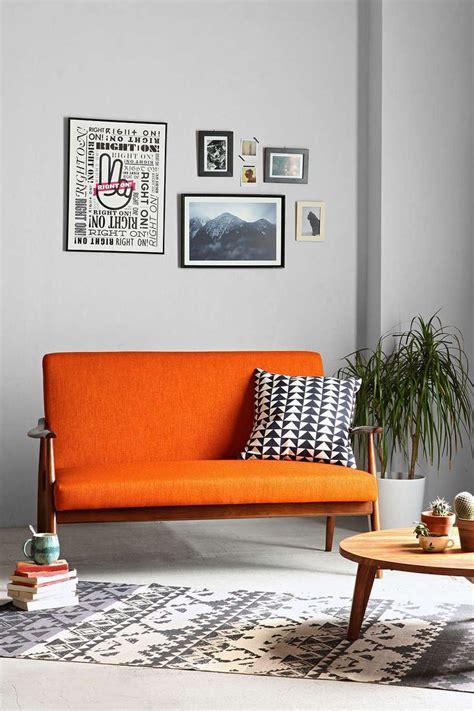 Living Room With Orange Sofa Best 20 Orange Sofa Ideas On Pinterest Orange Sofa Design Orange Sofa Inspiration And Orange