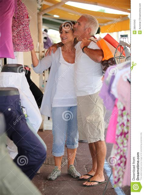Couples Clothing Store In A Clothing Store Stock Photos Image 28641043
