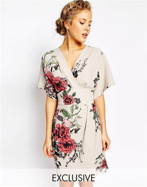 kimono dress pattern uk image 1 of closet obi wrap dress with kimono sleeve