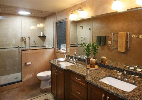 bathroom granite countertops ideas baltic brown granite bathrooms baltic brown granite countertops bathroom ideas