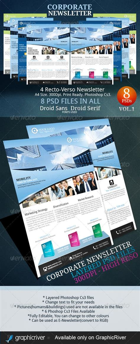 21 Best Ideas About Newsletter Exles Adobe Photoshop On Pinterest Newsletter Templates How To Create A Newsletter Template In Photoshop