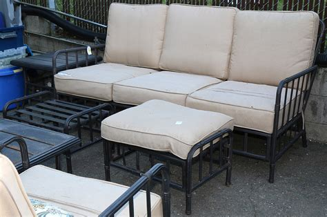the sle room lot of 7 patio furniture suite by martha stewart living consisting of a loveseat two occasion