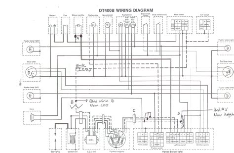 wiring diagram for 1975 yamaha dt 125 get free image