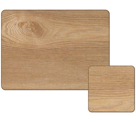 buy creative tops 4 oak veener mats and coasters wood at
