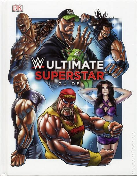 superstar books ultimate superstar guide hc 2015 dk comic books