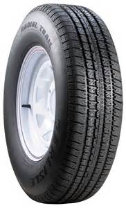 Trail Rv Track Tires St205 75r15 Carlisle Radial Trail Rh Tire And Wheel Lrc