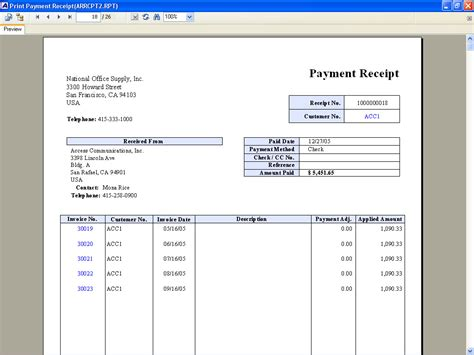 25 payment receipt templates free sample example format