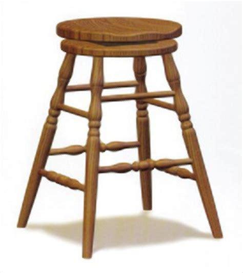 Amish Oak Bar Stools by Amish Scoop Seat Swivel Bar Stool Amish Furniture Oak Or