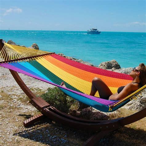 caribbean hammocks jumbo rainbow by the caribbean