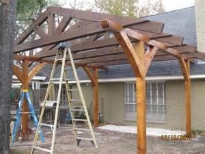 A Frame Patio Cover Pergola Construction Questions
