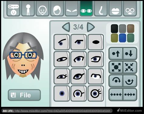 Gaming Setup Creator Web Based Nintendo Mii Maker I Just Lost An Hour Of My