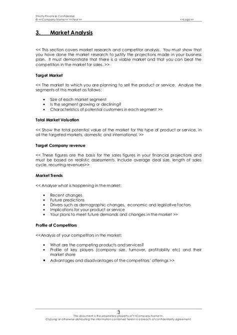sle business plan template