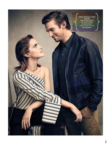 Emma Watson And Dan Stevens | emma watson updates emma watson and dan stevens cover