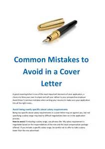 Cover Letter Mistakes by Top 10 Resume Mistakes To Avoid Bestsellerbookdb