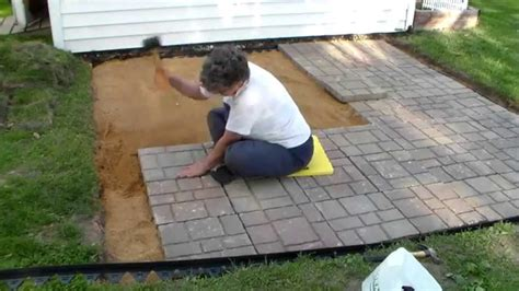 patio how to build a patio with pavers home interior design