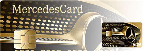 mercedes bank kreditkarte mercedescard gold im test