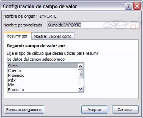 tablas dinmicas para hacer el estado de cambios en la curso gratis de excel 2010 aulaclic 17 las tablas
