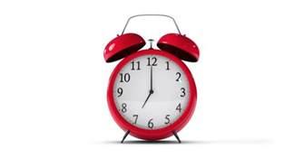 Alarm Clock Classic Alarm Clock Ringing With Alpha Channel
