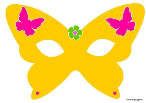 butterfly mask template butterfly mask coloring page printable masks