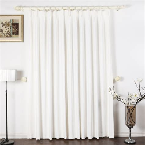 White Out Curtains White Lined Black Out Curtains