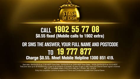 Competition To Win Money - channel 7 million dollar minute the safe money sta