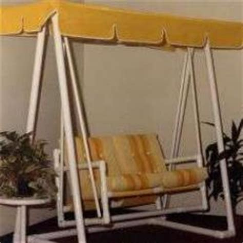 pvc porch swing free pvc porch swing plans woodideas