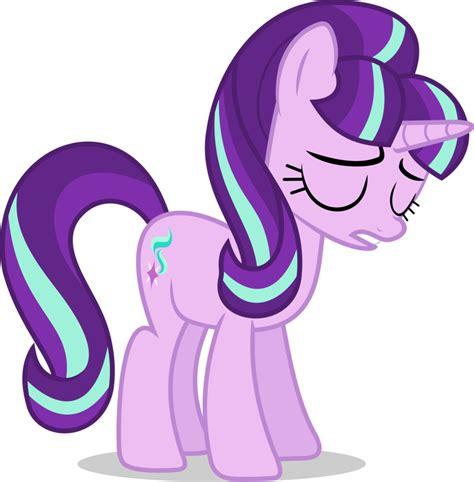 imagenes de sad my little pony mlp fim starlight glimmer sad vector by luckreza8 on