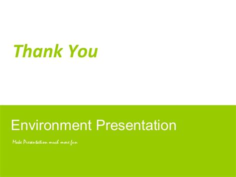Environment Ppt Template Environment Powerpoint Template