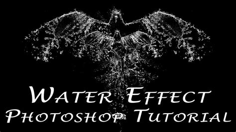 photoshop cs3 water effect tutorial photoshop tutorial water effect youtube