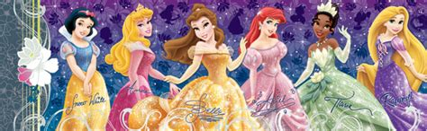 Best Terlaris Puzzle Jigsaw Disney Princess Panorama 1000 Pcs Sni disney panorama disney princesses jigsaw puzzle