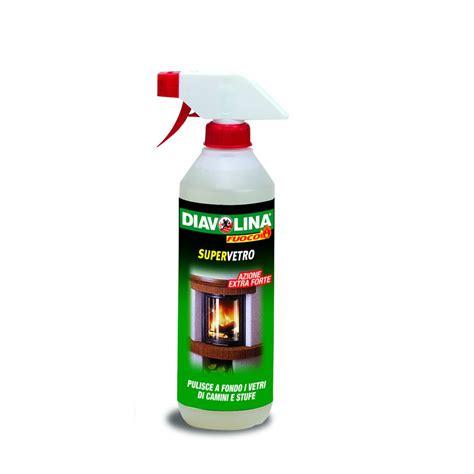 prodotti per pulire il camino pulitore spray vetro diavolina diavolina offerte