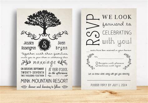 free rustic wedding invitation templates wedding rustic wedding invitation pack invitation templates on